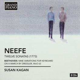COMPLETE PIANO SONATAS/NI SUSAN KAGAN NEEFE/BEETHOVEN, CD