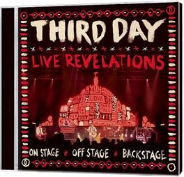 LIVE REVELATIONS -CD+DVD- THIRD DAY, CD