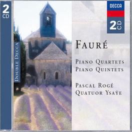 PIANO QUARTETS/QUINTETS YSAYE QUARTET Audio CD, G. FAURE, CD