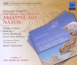 ARIADNE AUF NAXOS KENT NAGANO R. STRAUSS, CD