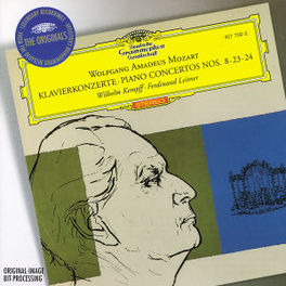 PIANO CONCERTOS 8,23,24 W/WILHELM KEMPFF, BAMBERGER SYMPHONIKER, BERLINER PHILH Audio CD, W.A. MOZART, CD