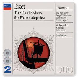 LES PECHEURS DE PERLES W/PIERETTE ALARIE, LEOPOLD SIMONEAU, RENE BIANCO, JEAN Audio CD, G. BIZET, CD