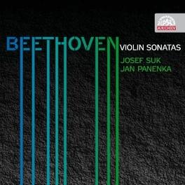 VIOLIN SONATAS SUK/PANENKA L. VAN BEETHOVEN, CD