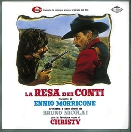 LA RESA DEI CONTI 140GR. HQ VINYL ENNIO MORRICONE, Vinyl LP