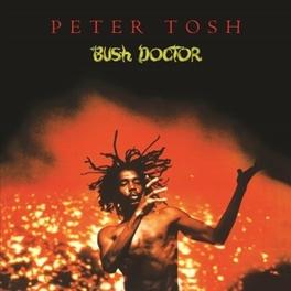 BUSH DOCTOR 180 GRAM AUDIOPHILE VINYL / INSERT / REMASTERED AUDIO PETER TOSH, LP