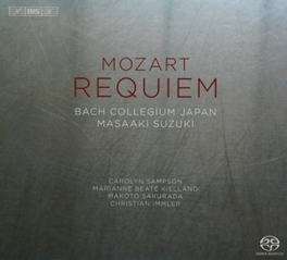 REQUIEM -SACD- BACH COLLEGIUM JAPAN/MASAAKI SUZUKI W.A. MOZART, CD