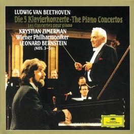 PIANO CONCERTOS W/ZIMERMAN, WIENER PHILHARMONIKER, LEON BERNSTEIN Audio CD, L. VAN BEETHOVEN, CD