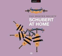 AT HOME VAN SWIETEN SOCIETY SCHUBERT, CD