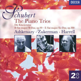PIANO TRIOS ASHKENAZY/ZUKERMAN/HARRELL Audio CD, F. SCHUBERT, CD