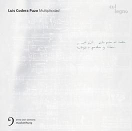 MULTIPLICIDAD LUIS CODERA PUZO, CD