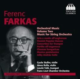 ORCHESTRAL MUSIC VOL.2 GYULA STULLER/JANOS ROLLA FARKAS, CD