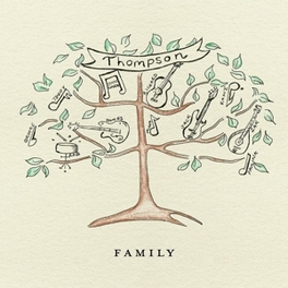 FAMILY -DELUXE/CD+DVD- THOMPSON, CD