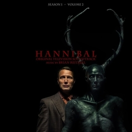 HANNIBAL SEASON 1, VOL.2 MUSIC BY BRIAN REITZELL/ GRAPE VINYL OST, LP