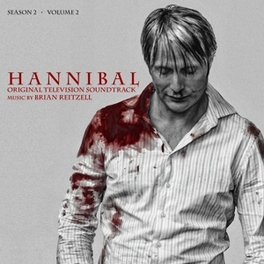 HANNIBAL SEASON 2, VOL.2 MUSIC BY BRIAN REITZELL/ RED VINYL OST, Vinyl LP