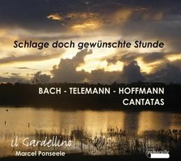 CANTATAS IL GARDELLINE/MARCEL PONSEELE BACH/TELEMANN/HOFFMANN, CD