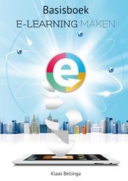 Basisboek E-learning maken Klaas Bellinga, Paperback