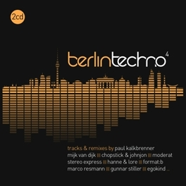 BERLIN TECHNO 4 V/A, CD