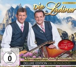 ALPENROSEN AUS.. -CD+DVD- .. DEN DOLOMITEN DIE LADINER, CD