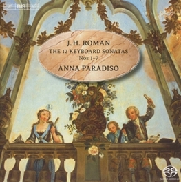 12 KEYBOARD.. -SACD- .. SONATAS NO.1-7 ANNA PARADISO, CD