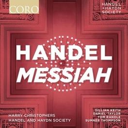 MESSIAH HANDEL & HAYDN SOCIETY/HARRY CHRISTOPHERS G.F. HANDEL, CD