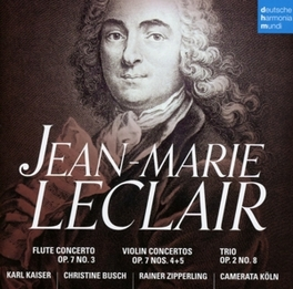 VIOLIN CONCERTOS CAMERATA KOLN J.M. LECLAIR, CD