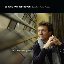COMPLETE PIANO PIECES TOBIAS KOCH L. VAN BEETHOVEN, CD