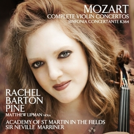 COMPLETE VIOLIN CONCERTOS ACADEMY OF ST.MARTIN-IN-THE-FIELDS/RACHEL BARTON PINE W.A. MOZART, CD