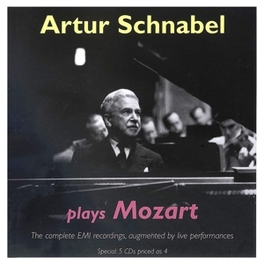 SCHNABEL PLAYS MOZART SCHNABEL//COMPLETE EMI RECORDING Audio CD, MOZART, CD