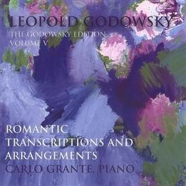 GODOWSKY EDITION VOL.5 GRANTE, CARLO Audio CD, GODOWSKY, CD