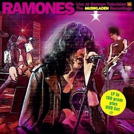 MUSIKLADEN.. -LP+DVD- .. RECORDING 1978 // SEPTEMBER 13TH, 1978 RAMONES, Vinyl LP