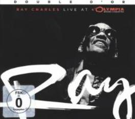 LIVE AT THE.. -CD+DVD- .. OLYMPIA RAY CHARLES, CD