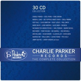 CHARLIE PARKER RECORDS.. .. - COMPLETE COLLECTION V/A, CD