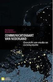 Communicatiekaart van Nederland overzicht van media en communicatie, Scholten, Otto, Paperback