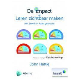 De impact van leren zichtbaar maken het bewijs in kaart gebracht, John Hattie, Hardcover