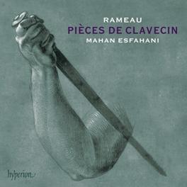 PIECES DE CLAVECIN MAHAN ESFAHANI J.P. RAMEAU, CD