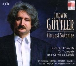 TRUMPET CONCERTOS LUDWIG GUTTLER/VSX TELEMANN/HANDEL, CD