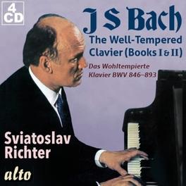 48 PRELUDES & FUGUES SVIATOSLAV RICHTER J.S. BACH, CD