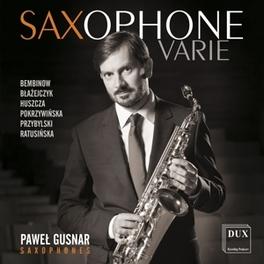 SAXOPHONE VARIE PAWEL GUSNAR, CD