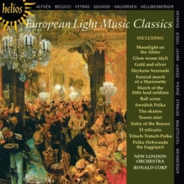 EUROPEAN LIGHT MUSIC CLAS RONALD CORP NEW LONDON ORCHESTRA, CD