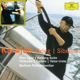 PEER GYNT/FINLANDIA BERLIN P.O./HERBERT VON KARAJAN Audio CD, GRIEG/SIBELIUS, CD