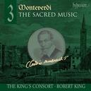 SACRED MUSIC 3 KING'S CONSORT/ROBERT KING