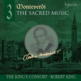 SACRED MUSIC 3 KING'S CONSORT/ROBERT KING Audio CD, C. MONTEVERDI, CD