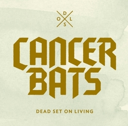 DEAD SET ON.. -CD+DVD- .. LIVING CANCER BATS, CD