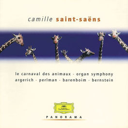 VARIOUS WORKS CARNAVAL DES ANIMAUX/ORGAN SYMPHONY/PERLMAN/A.O. Audio CD, SAINT-SAENS, C., CD