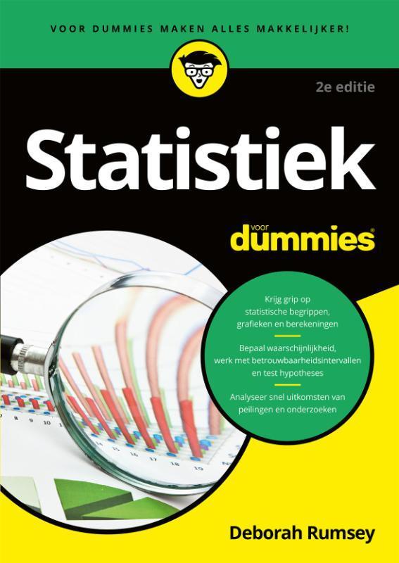 Statistiek voor Dummies Rumsey, Deborah, Paperback