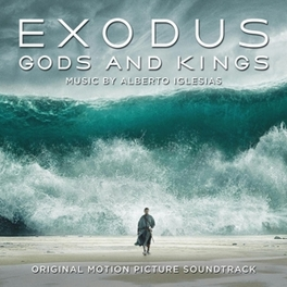 EXODUS: GODS AND KINGS SCORE BY ALBERTO IGLESIAS OST, CD