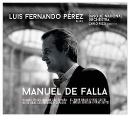 SUITES ANGLAISES NO.2 & 6 LUIS FERNANDO PEREZ/CARLO RIZZI M. DE FALLA, CD