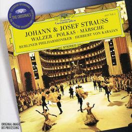WALZER, POLKAS & MARSCHE W/BERLINER PHILHARMONIKER, HERBERT VON KARAJAN Audio CD, STRAUSS, JOHANN & JOSEF, CD