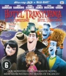 HOTEL TRANSYLVANIA -3D- CAST: ADAM SANDLER, KEVIN JAMES, SELENA GOMEZ ANIMATION, Blu-Ray