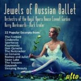 JEWELS OF RUSSIAN BALLET ROYAL OPERA HOUSE COVENT GARDEN V/A, CD